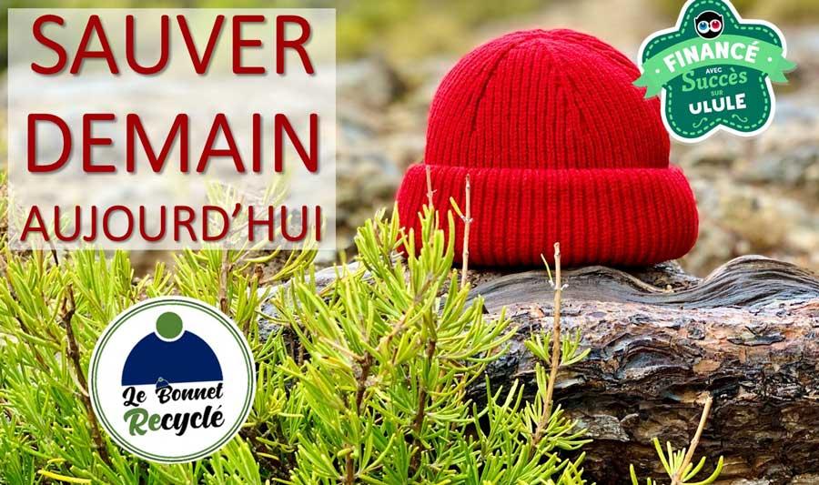 le bonnet recyclé par le bonnet français